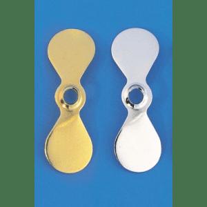Cabela's Propeller Style Spinner Blades - Nickel