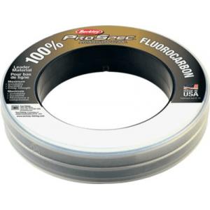 Berkley Pro Spec 100% Fluoro Leader Material - Clear (100 YARDS)