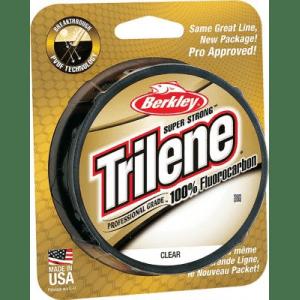 Berkley Trilene 100% Fluorocarbon - Clear (200 YARD)