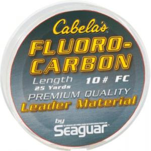 Cabela's Fluorocarbon Leader Spools - Clear (4 LB)
