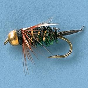 Cabela's Gold Bead Prince Nymphs - Per Dozen