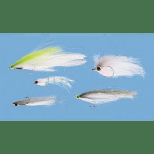 Cabela's Five-Piece Baitfish Fly Assortment - Chartreuse