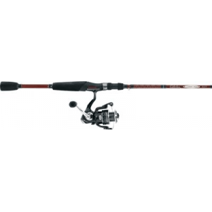 Cabela's Pflueger Summit Tourney Trail SE Spinning Combo - Stainless Steel