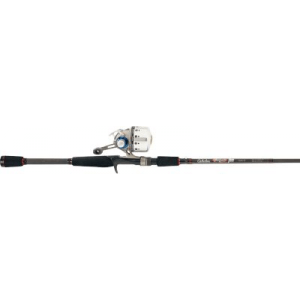 Cabela's Daiwa Silvercast Pro Guide Spincast Combo - Stainless Steel