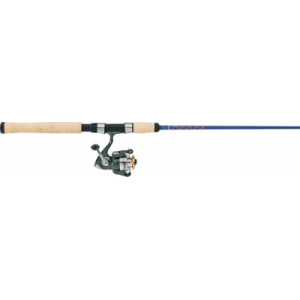Cabela's Fish Eagle Tournament II/Whuppin' Stick UltraLight Spinning Combo - Stainless Steel