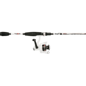 Abu Garcia Ike Dude 2 Spinning Combo - Stainless Steel