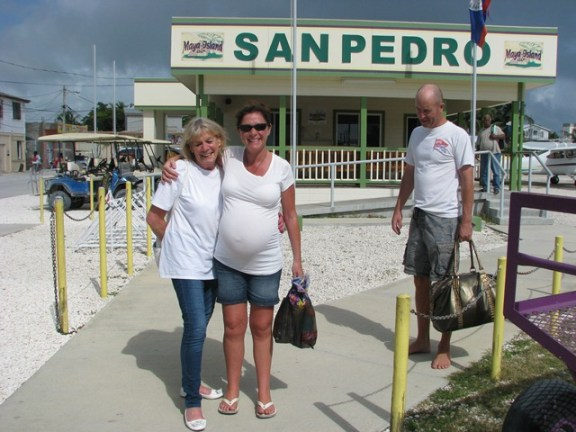 flying to san pedro belize