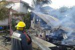 Fire in DFC San Pedro Belize
