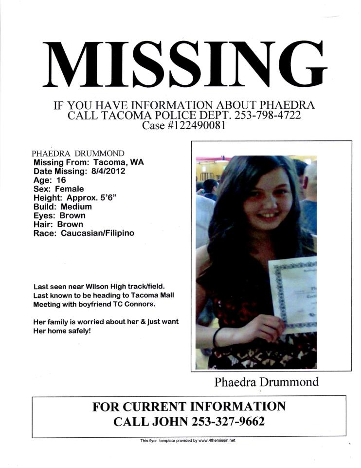Missing Person - missing person flyer template