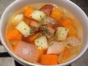 ドイツ風アイントプフ〜農夫のスープ