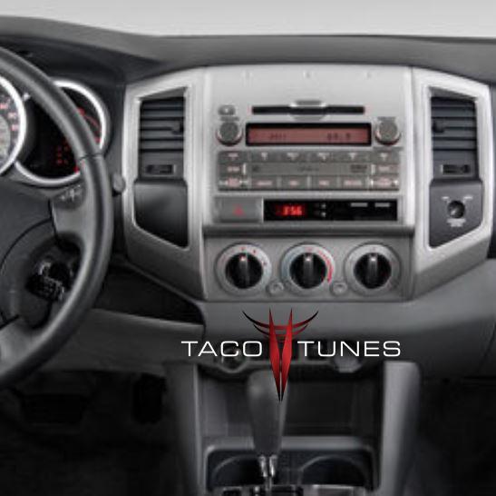 2005-2011 Toyota Tacoma aftermarket stereo installation kit