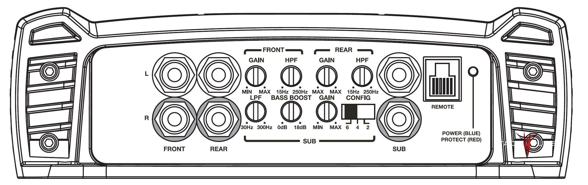 How to tune TXD3204 Plug and Play Amp Crossover & High