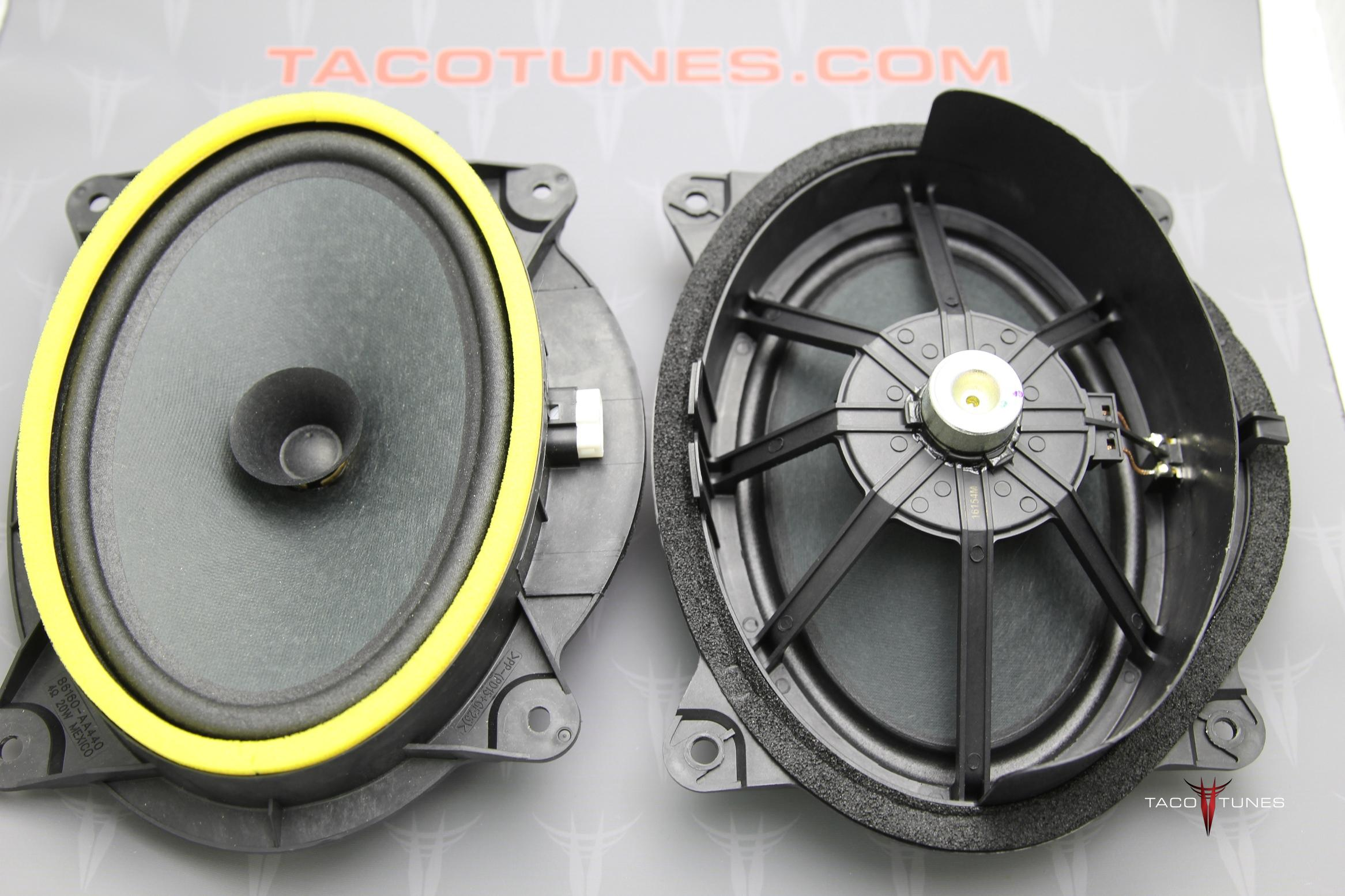 How To Install Component Speakers 2016 Toyota Tacoma