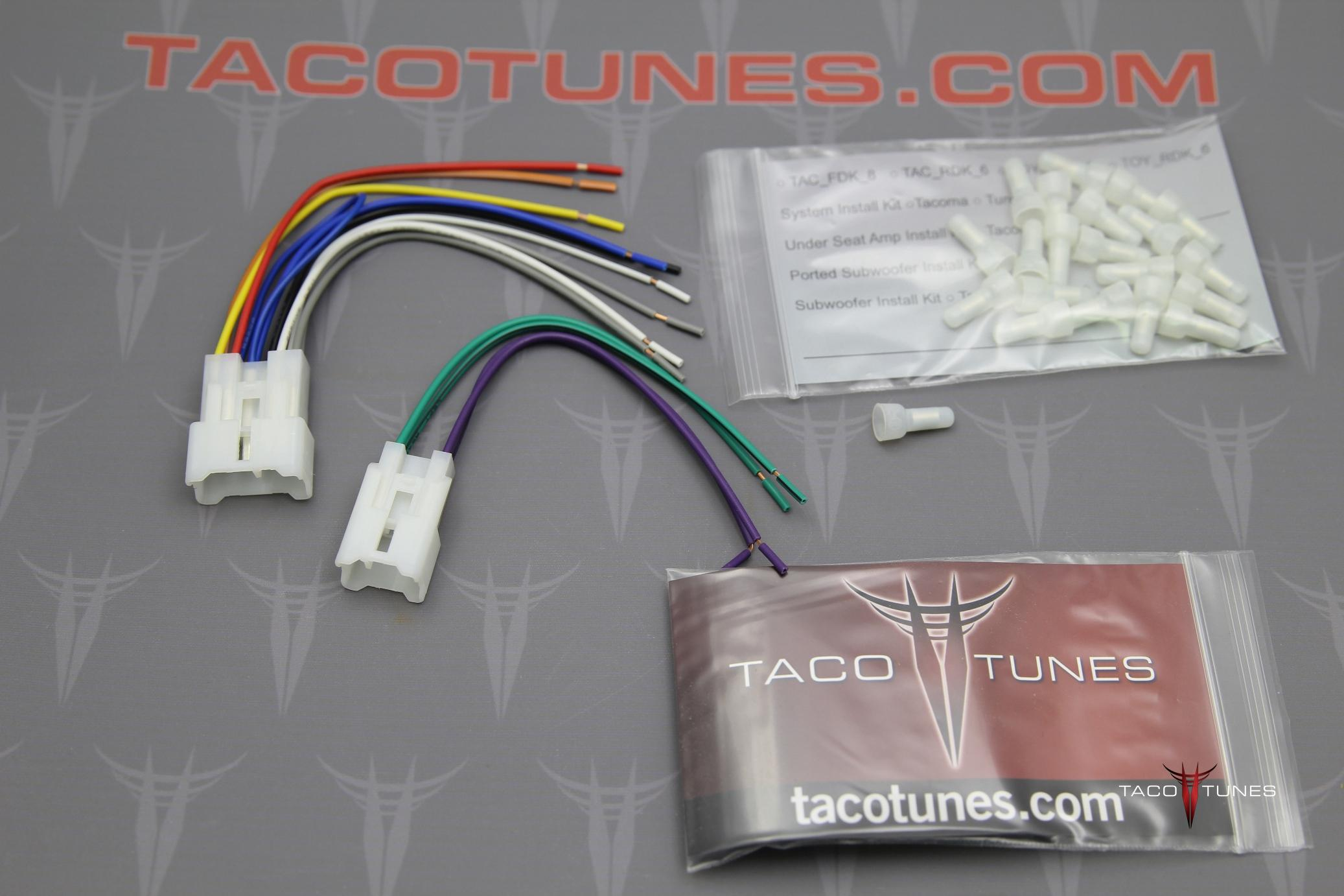 toyota radio wiring harness adapter