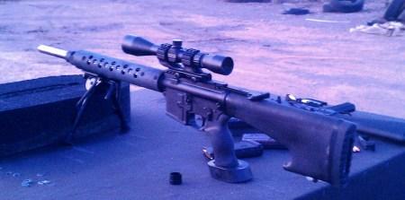 Long Range Varmint AR