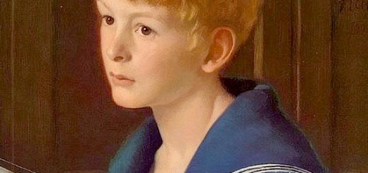 Edward Robert Hughes, Portrait of Norman Leith Hay-Clark (Ausschnitt)