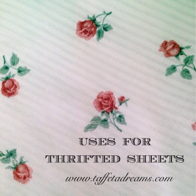 uses for thrifted sheets