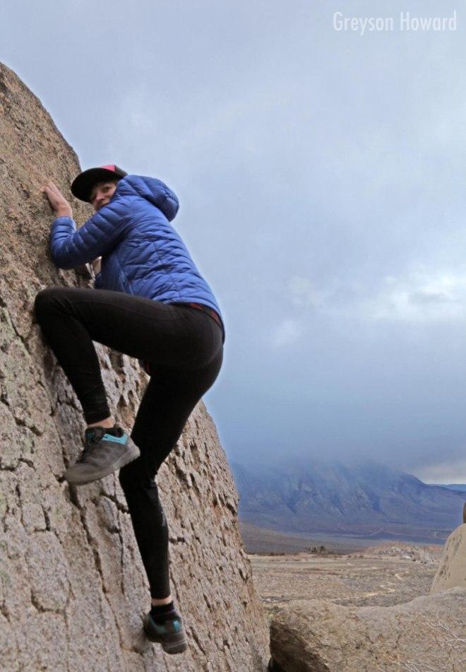 Lynn bouldering Buttermilks