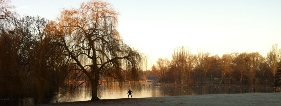 Morning Training by the Boating Lake