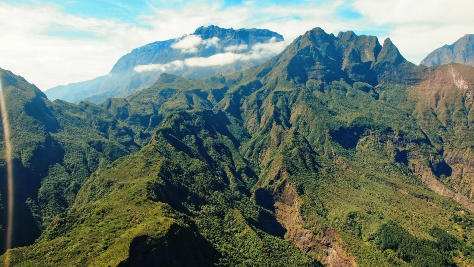 Mountains of Reunion Island
