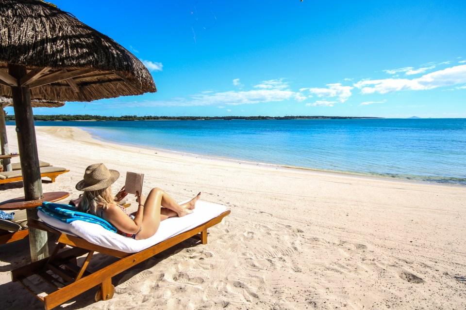 One&Only Le Saint Geran Mauritius beach