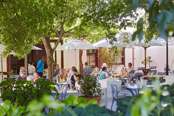bread and wine restaurant franschhoek
