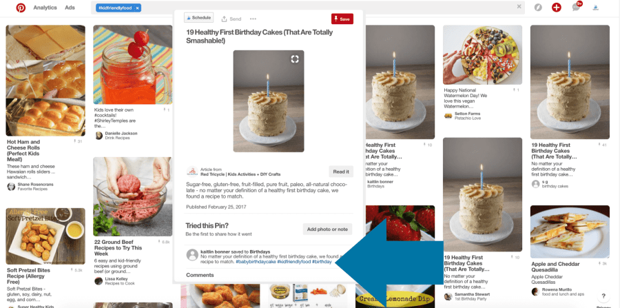 A Pinterest Search for #kidfriendlyfood