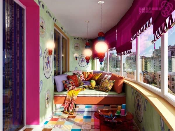 idei-dizajna-balkona-35jpg (600×448) Heng Yang Pinterest