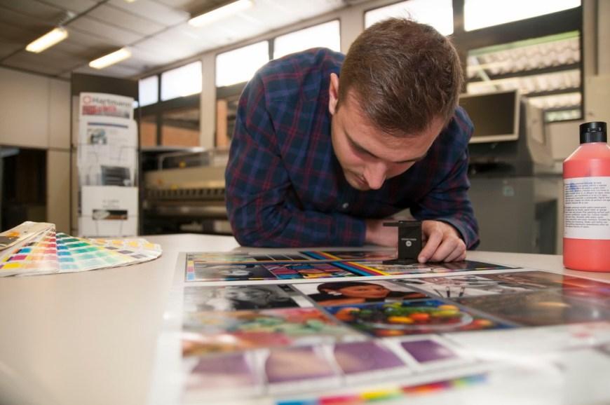 Ciclo formativo Grado Medio Impresión en Tajamar