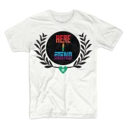 here I stand t shirt
