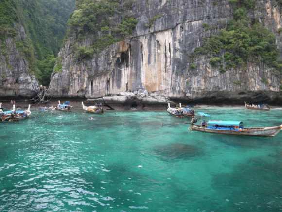 [タイ]映画「ザ・ビーチ」のロケ地 (4)