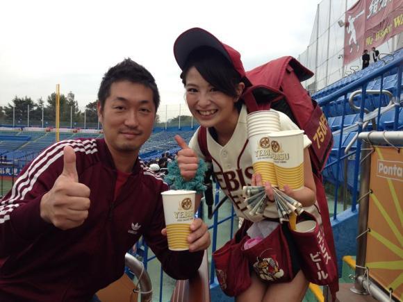 美人ビール売り子 (3)