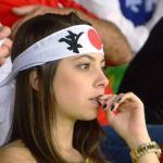 ブラジルW杯日本初戦のコートジボワール戦「日の丸はちまき大作戦」結果報告 (7)