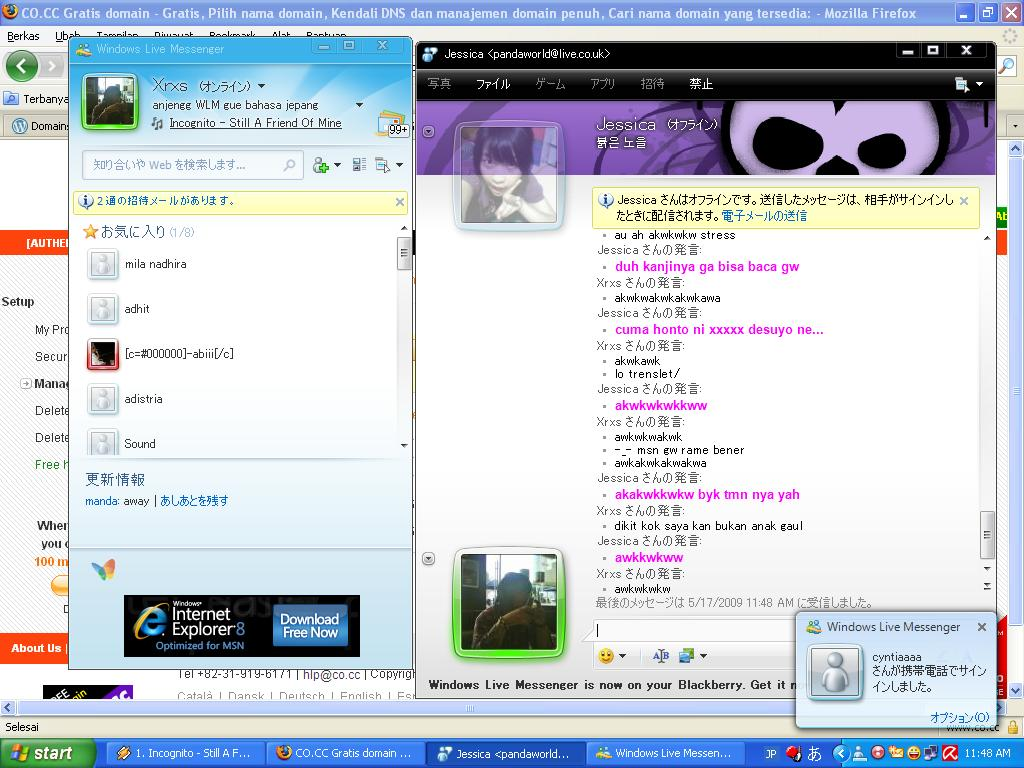 Window Live Messenger Msn Windows Live Messenger 9