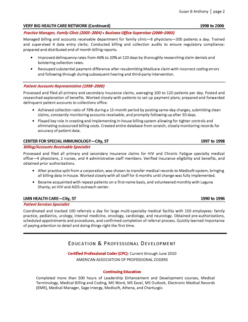 Resume templates medical office manager - Medical office manager