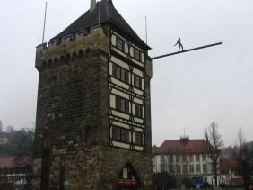 Der Schelztor Turm - unul dintre turnurile de apărare ale așezării care a supraviețuit timpului și, totodată, unul din simbolurile orașului