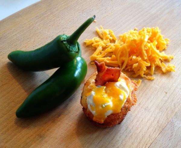 Jalapeno Popper Cornbread Snack - taketwotapas.com | take two tapas