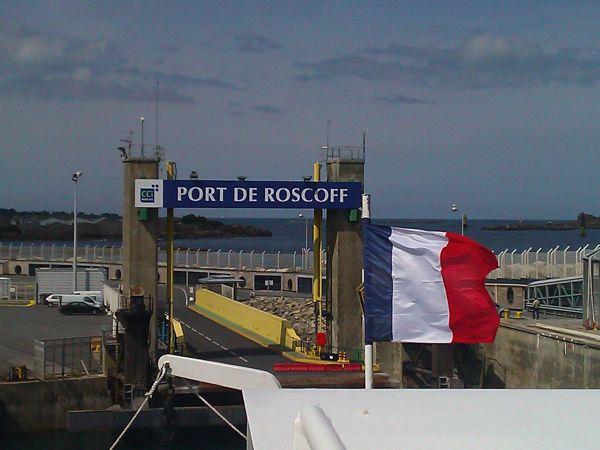 Plymouth Roscoff ferry crossing