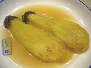 「焼き茄子」の関東煮(かんとだき/おでん)