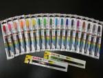 感謝のハガキやPOPの強い味方!カラー筆ペン18色+2本がやってきました!!