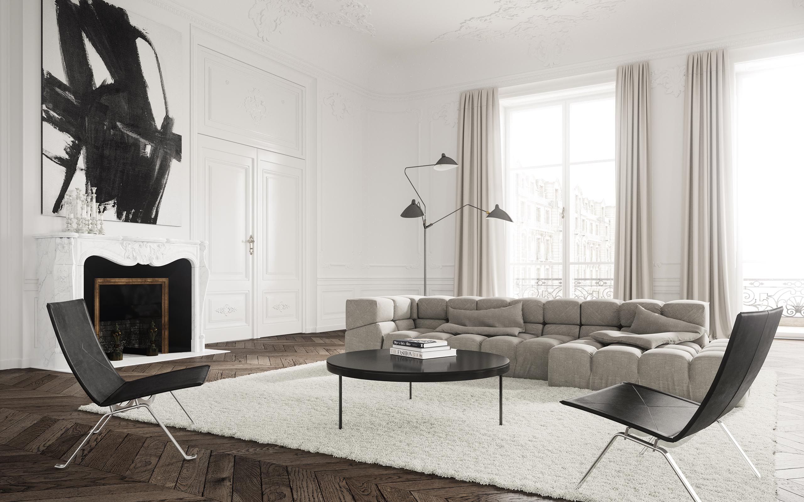 Couchtisch 2 Er Set Classical Apartment By Jessica Vedel - Talcik&demovicova