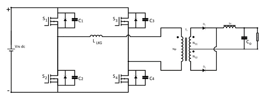 SMPS Phase-Shifted Full-Bridge Converters