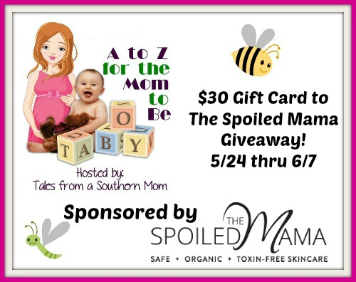 $30 Gift Card  to The Spoiled Mama Giveaway! 6/7