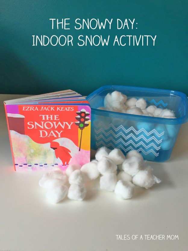 The Snowy Day Indoor Snow Activity