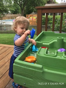 Water table play