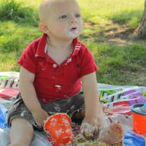 Levi 1 year birthday party (16)