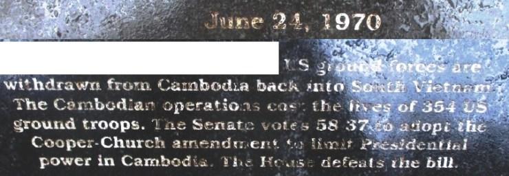 Cambodia June 24th, 1970
