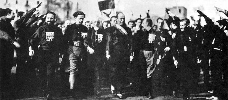 Mussolini's-march-on-Rome_1922