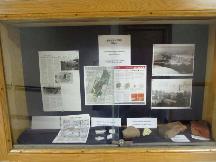 trail display case