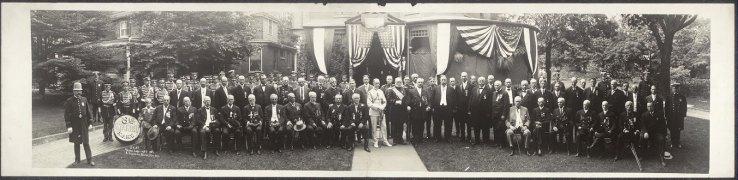 President Taft 1911 Panorama